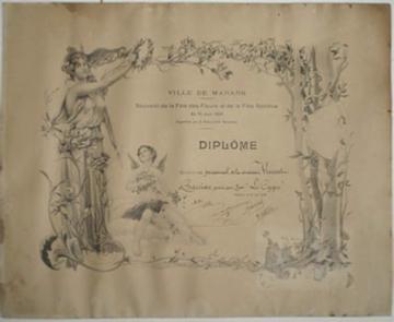 Restauration de gravure restauration d 39 un dipl me sur papier for Diplome restauration collective